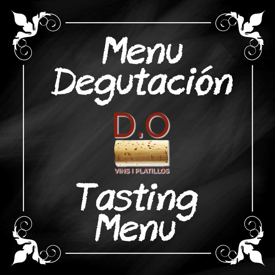 Menu degustacion DO